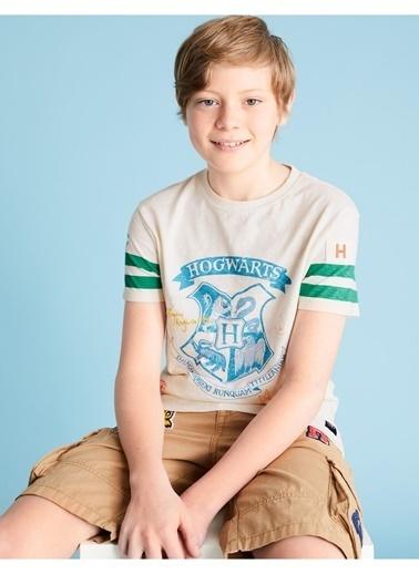 Marks & Spencer Harry Potter™ Baskılı T-Shirt Krem